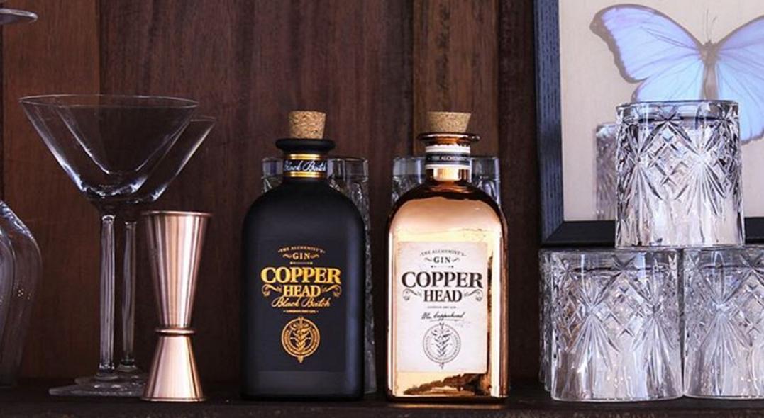 Coffret de gins Copper Head Duobox Le meilleur cadeau pour la fête des pères - Dégustations de vin - achat/vente de vin - Histoire de Boire