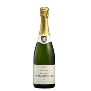 Champagne Brut Madame de Maintenon disponible sur le wineshop d'Histoire de Boire