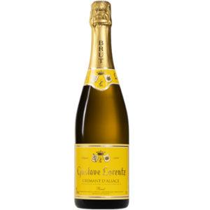 Crémant d'Alsace AOC Gustave Lorentz Brut disponible sur le wineshop d'Histoire de Boire