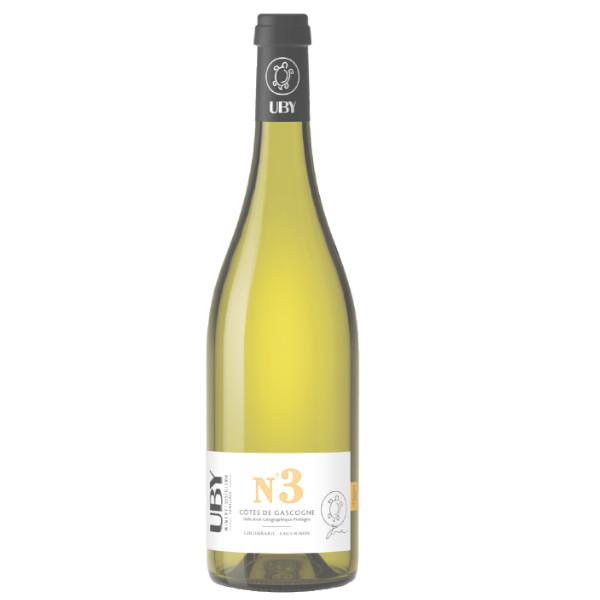 Uby n°3 Colombard-Sauvignon disponible sur le site d'Histoire de Boire