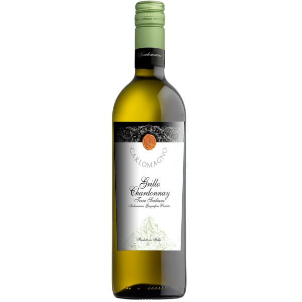 Carlomagno Grillo Chardonnay disponible sur le wineshop d'Histoire de Boire