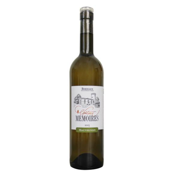 Château Mémoires Bordeaux Blanc disponible sur le wine shop d'Histoire de Boire