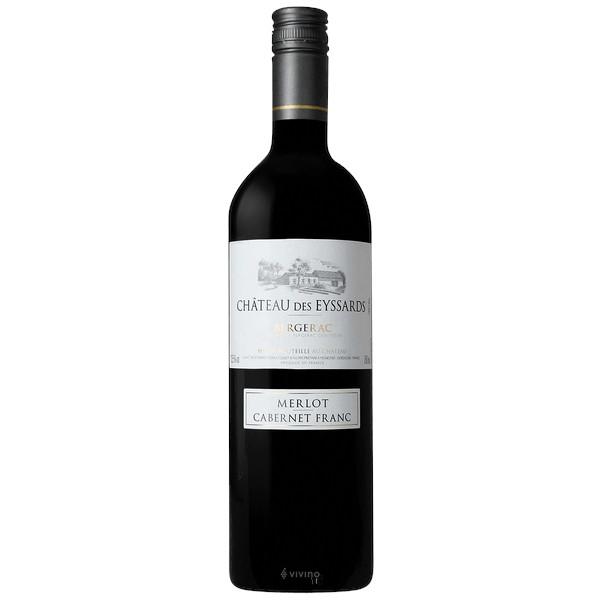 Château des Eyssards Merlot Cabernet Franc disponible sur le wineshop d'histoire de boire