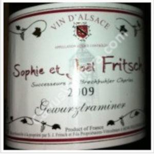 Gewurztraminer Sophie & Joël Fritsch disponible sur le wineshop d'Histoire de Boire