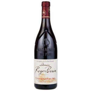 Châteauneuf du Pape Roger Perrin disponible sur le wineshop d'Histoire de boire