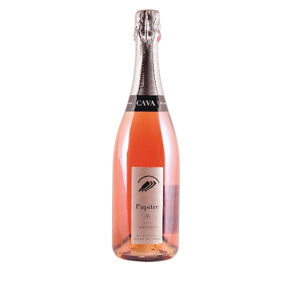 Cava Pupitre Rosé disponible sur le wineshop d'Histoire de Boire