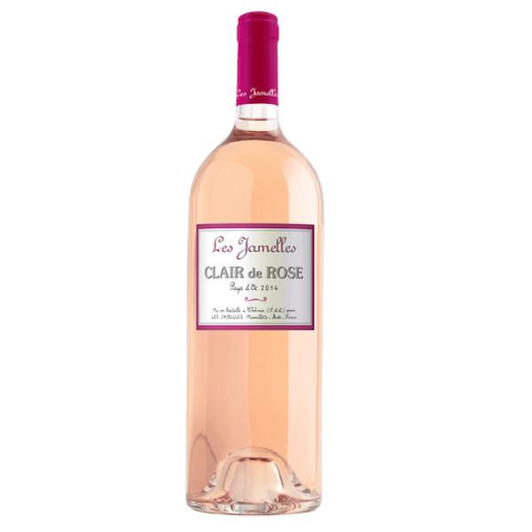 Les Jamelles Classic Clair de Rose – Pays d'Oc  -2019 disponible sur le wineshop d'Histoire de Boire