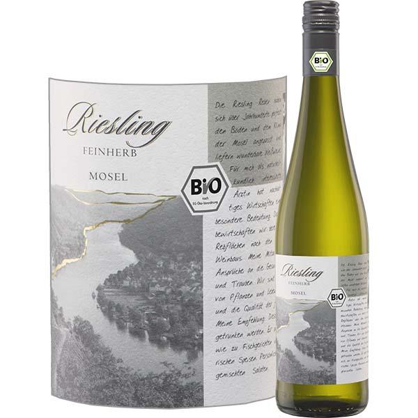 Riesling Feinherb BIO disponible sur le wineshop d'Histoire de Boire