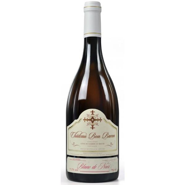 Bon Baron Blanc de Noir vin belge disponible sur le wineshop d'Histoire de Boire
