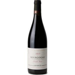 Bourgogne Rouge Pinot Noir Domaine Arnoux disponible sur le wineshop d'Histoire de Boire