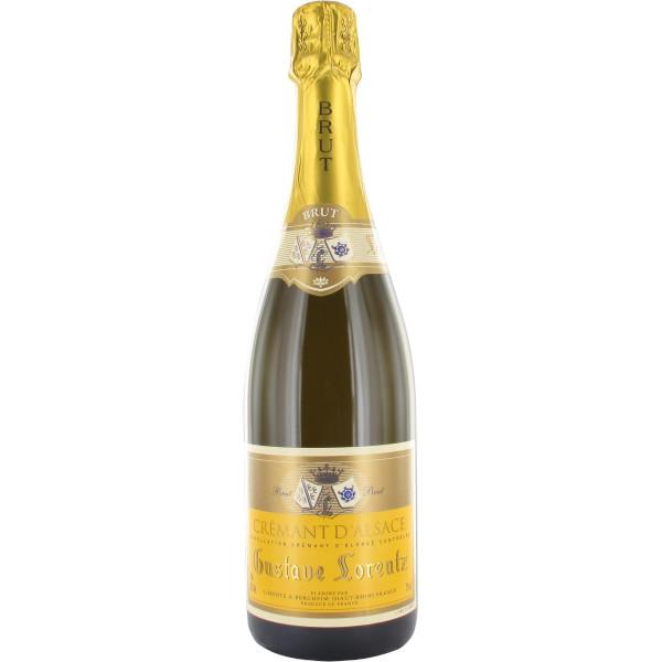 Crémant d'Alsace AOC Gustave Lorentz Brutdisponible sur le wineshop d'Histoire de Boire