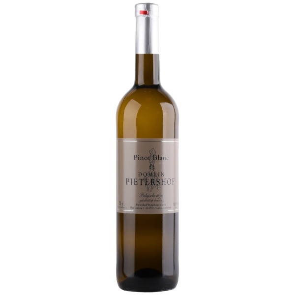 Pietershof Pinot Blanc Auxerois 2017 disponible sur le wineshop d'Histoire de Boire