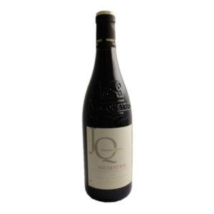 Vacqueyras Jérôme Quiot Rouge disponible sur le wineshop d'Histoire de Boire