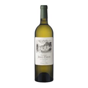 Château Jean Faux Blanc BIO Disponible ur le wineshop d'Histoire de Boire