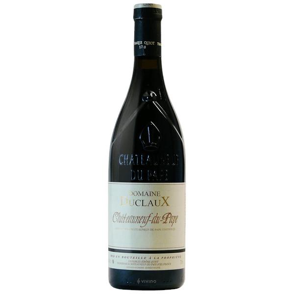 Châteauneuf du Pape domaine Duclaux disponible ur le wineshop d'Histoire de Boire
