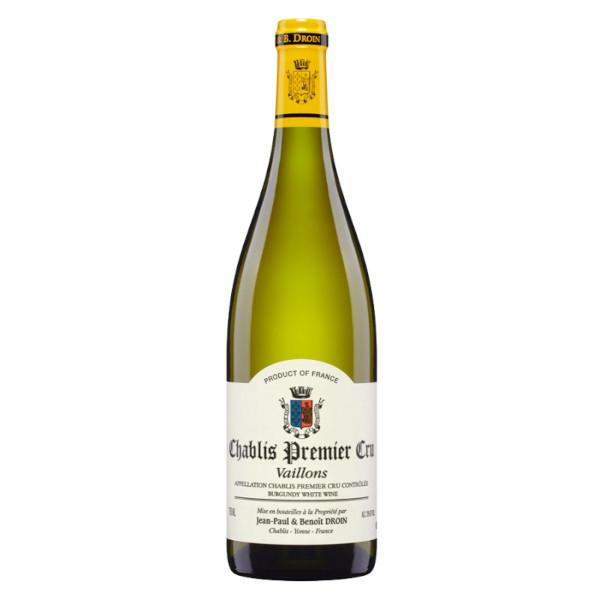 Chablis Vaillons 1er Cru JP & B Droin 2015 disponible sur le wineshop d'Histoire de boire