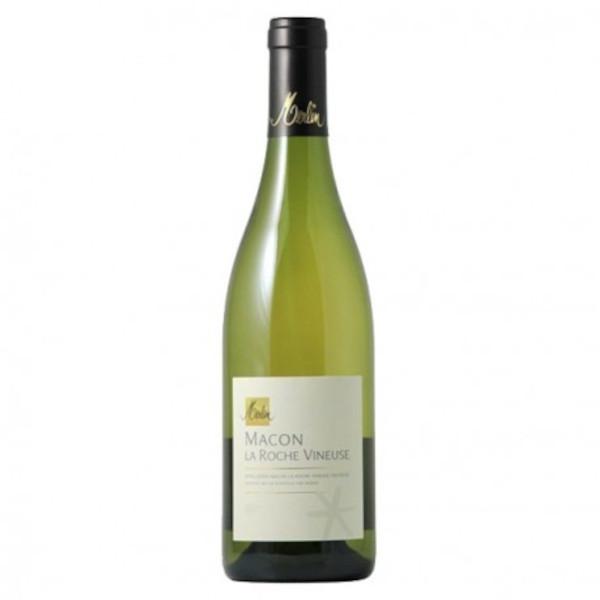 """Mâcon Lugny """"la Roche Vineuse"""" Dom. Merlin 2014 disponible sur le wineshop d'Histoire de Boire"""