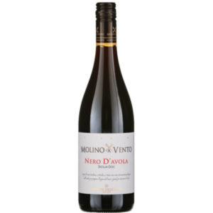 Molino a Vento Nero d'Avola Sicile disponible sur le wineshop d'Histoire de Boire