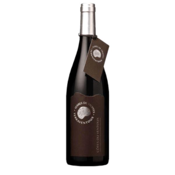 Terres des Truffes Ventoux Rouge disponible sur le wineshop d'Histoire de Boire