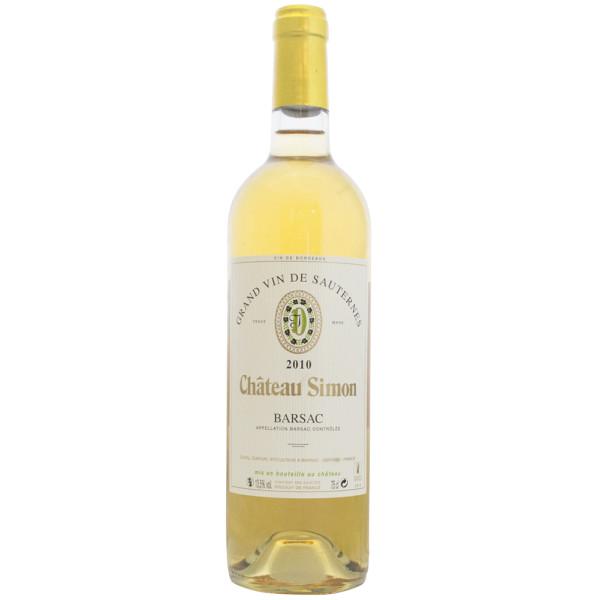 Château Simon Grand vin de Sauternes dispnible sur le wineshop d'Histoire de Boire