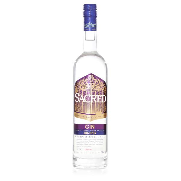 Sacred Gin Juniper disponible sur le webshop d'Histoire de Boireok