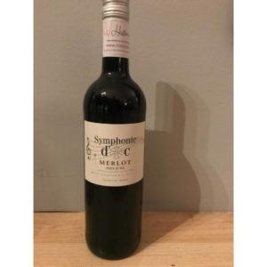 Symphonie Merlot Pays d'Oc disponible ur le wineshop d'Histoire de Boire